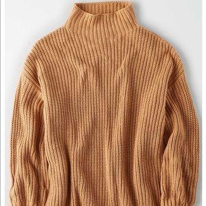 AE Oversized Mock Neck Sweater
